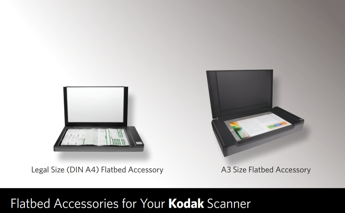Kodak Legal & A3 Sized Flatbed Accesories – E-Z Photo Scan
